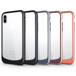 Customized promotion online shopping - Big Promotion Phone Cases Clean Up Inventory Clear Hybrid Soft TPU Hard PC Bumper Back Cover For Samsung iphone x plus
