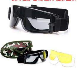 e78ba5d394 lente de marca de calidad superior 3 Gafas de protección polarizadas gafas  de sol tácticas x800 Gafas de protección antibalas al aire libre