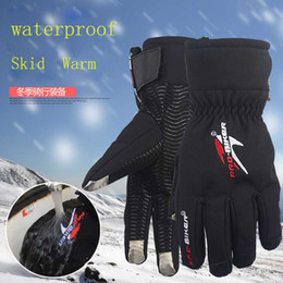 $enCountryForm.capitalKeyWord Australia - Wholesale- Screen Touch Motorcycle Gloves Winter Waterproof Windproof Warm Leather Cycling Bicycle Cold Guantes Luvas Ski Racing Glove