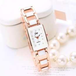 analog wrist watch sale Australia - Hot Sale Women Casual Rectangle Quartz Watches Students Fashion Brief Quartz Wrist Watches Lady Fashion All-Match Watches