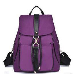 $enCountryForm.capitalKeyWord Canada - New Waterproof Backpack Unisex Bag Casual Women Men School Backpack Brand Nylon rucksack college wind Fashion Lap top ladies backpack