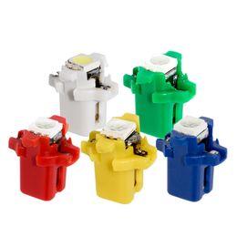 $enCountryForm.capitalKeyWord Australia - 10pcs T5 B8.3D 5050 Led Lamps Car Gauge Speedo Dash Bulb B8.5 LED Dashboard instrument Light 12v blue red green white yellow 10X