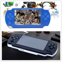 Discount mp5 player inches - PMP 8GB handheld Game Console 4.3 inch screen mp4 player MP5 game player real 8GB support for psp game,camera,video,e-bo