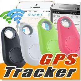 Venta al por mayor de Mini teléfono inalámbrico Bluetooth 4.0 No hay alarma GPS Tracker iTag Key Finder Grabación de voz Anti-lost Selfie Shutter para iOS Android Smartphone