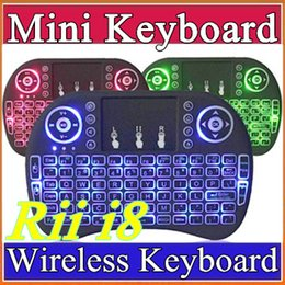 $enCountryForm.capitalKeyWord NZ - 200X Portable mini keyboard Rii I8 Wireless bluetooth Keyboards game Fly Air Mouse Multi-Media Remote Control Touchpad Handheld Android A-FS