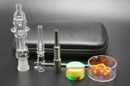 $enCountryForm.capitalKeyWord NZ - Hot Sale Honey Straw Kit With Gift Box Come with Titanium Nail Quartz Nail Dabber Dish Clip 10mm 14mm joint Water Bong Pipes