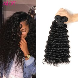 $enCountryForm.capitalKeyWord Canada - ALOT Grade 8A Human Hair Bundles Deep Wave 3 Bundles Brazilian Virgin Hair 100% Unprocessed Human Hair Extensions 8-28inch