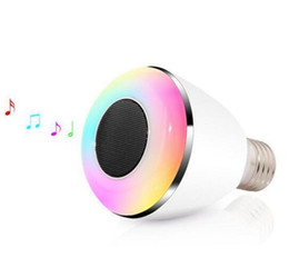 $enCountryForm.capitalKeyWord Australia - New 2 in 1 Bluetooth Control Mini Smart LED Bulb Music Audio Speaker 6W E27 RGB Light Lamp Bulb+Free Shipping