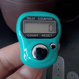 row counter electronic UK - Electronic Row Counter Finger Ring Golf Digit Stitch Marker LCD Tally Counter