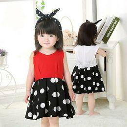 $enCountryForm.capitalKeyWord NZ - Baby Girls Clothes LOVE Tops + Flower skirt 2pcs Pretty Flowered Cotton Kids Sets 2017 Summer Children Girl Clothing Set