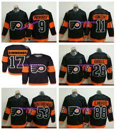 818e6cb7a Ivan Provorov Jersey Canada - 2017 Stadium Series Premier Jersey  Philadelphia Flyers  53 Shayne Gostisbehere