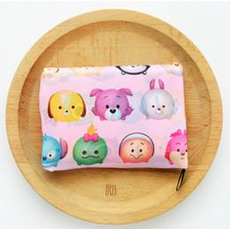 300pcs faltbare wasserdichte Lagerung Eco wiederverwendbare Polyester Cartoon Shopping Tragetaschen Qualität Einkaufstaschen Träger