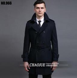 629986ed1bd black khaki casual coats men double breasted overcoat mens cashmere coat  casaco masculino inverno erkek mont sobretudo england 6XL