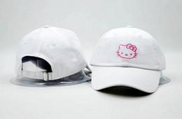 6ebb7cf69 Hello kitty hat Hats For women Men Cool Brand Designer Hip Hop Baseball Cap  Women Golf Hat Sports Casquette