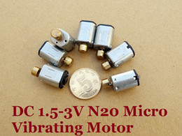 Vibration motors online shopping - 20pcs MM Miniature DC V V Vibration N20 Motor With Copper Vibrator