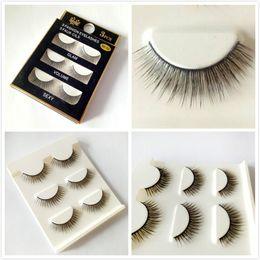Beauty Essentials New Hot 3 Pairs 3d Mink False Eyelashes Long Thick Dramatic Look Handmade Reusable Makeup Fake Eyelash 998 Beauty & Health