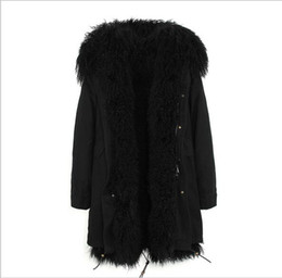 $enCountryForm.capitalKeyWord Canada - Fashion Jazzevar black Mongolia sheep fur lined black long parka warm coats with Mongolia sheep fur trim collar ladies jackets