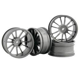 $enCountryForm.capitalKeyWord UK - RC Aluminum Wheel 4pc D:52mm W:26mm Fit HSP HPI 1:10 On-Road Drift Car Rim 123T