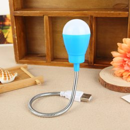 chocolate umbrella NZ - Advertising promotion led ball bulbs creative USB travel long small desk lamp emergency light bulb street source