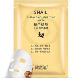 $enCountryForm.capitalKeyWord Canada - Snail Essence Moisturizing Mask Hydrating Face Skin Care Making The Face Tender for Women And Men