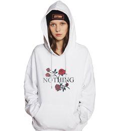 Girls hooded sweatshirts online shopping - New Fashion Pullover Autumn Women Floral Printed Hooded Hoodies Long Sleeve Sweatshirt Sexy Girl Sportwear Hoodie
