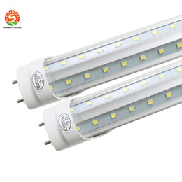 $enCountryForm.capitalKeyWord UK - T8 LED Tube Light g13 2 pin 8ft 6FT 5FT 4FT V Shape Double Glow Light For cooler door AC85-265 led shop light