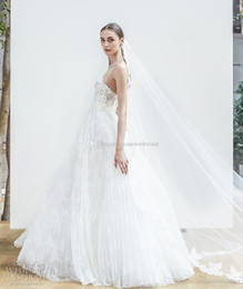 long straight wedding dresses