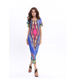 Sexy Blue Clothes For Women Canada - Dresses for Women Sexy Long Maxi Dress Vestido De Festa Casual Summer Plus Size Women Clothing