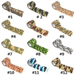 Hunting stickers online shopping - 12 COLORS cmx4 m Camo outdoor camouflage hunting tape tools camouflage stealth tape durable waterproof curling bike stickers M0301