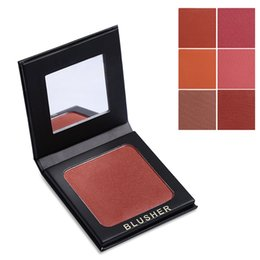 China Wholesale- 6 Color COCOSH SHE Brand Makeup Blush Powder Nude Blusher Palette Rouge Bronzer Cheek Naked Face Base Natural Make Up cheap naked palette nude suppliers