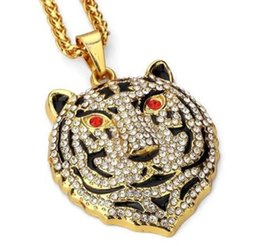 stylish gold pendant chain NZ - 14K Gold New Stylish Pattern Gold Color Link Chain Pendant For Men