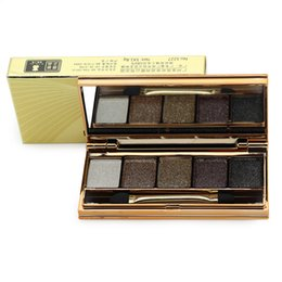 bright eyes 2019 - Wholesale- Diamond Bright Palette 5 Color Eye shadow Naked Smoky Eyeshadow Primer Makeup Set Maquillage Professional Cos