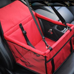 Waterproof Oxford Cloth Pet Dog Car Travel Mat Folding Washable Hammock Seat Cover Pad For Small Medium Safety Belt