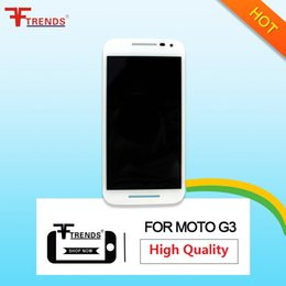 Moto G Gen NZ - Black White For MOTO G3 G 3rd Gen LCD Display Touch Screen Digitizer Assembly Replacements High Quality AAA with Free Repair Tools