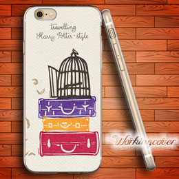 Iphone Harry Potter Canada - Fundas Travelling Harry Potter Soft Clear TPU Case for iPhone 7 6 6S Plus 5S SE 5 5C 4S 4 Case Silicone Cover.
