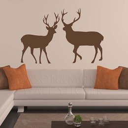 Home Stickers Deer, Buck, Doe   Wall Decal, Wall Decor, Vinyl Sticker, Vinyl  Decal, Bedroom, Home Decor 60*90CM