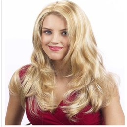 peruvian natural wave half wig NZ - color L27# Straight Blond Wig Is Full Of My Shoes And Half Baby About Brazilian Virgin Hair Silk Of Human Hair Wig Immediately Fills My Wigs
