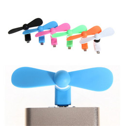 $enCountryForm.capitalKeyWord NZ - Portable Mini USB Gadget Micro USB fan for OTG android mobile phone FANS Summer camp outdoor portable fans Cooler Cooling Fan