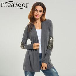 Loose crochet shawL online shopping - Meaneor Brand Women Cardigan Outwear New Autumn Wool Sweater Casual Shawl Collar Long Sleeve Cardigan Loose Outwear