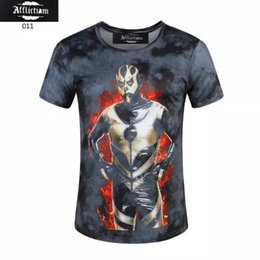 Hommes Tee S Pas Cher-Hot 3d tshirts 2017 hommes t-shirts boxe 3d t-shirt o-neck t-shirt boxe tees hommes occasionnels street wear tee pour homme