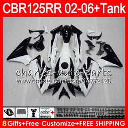 $enCountryForm.capitalKeyWord Australia - 23Colors Body +Tank For white black HONDA CBR125 R CBR 125R 125RR CBR125R 02 03 04 05 06 80NO47 CBR125RR 2002 2003 2004 2005 2006 Fairing