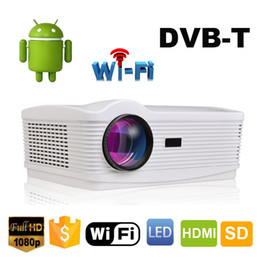 $enCountryForm.capitalKeyWord NZ - Wholesale-Free 100inch Screen ATCO Best Android 4.4 Wifi Smart DVBT Digital TV Proyector Beamer Led 3D Projector 1080P Full HD 5500Lumens