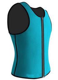 $enCountryForm.capitalKeyWord NZ - Men's zipper sports vest Abdomen corset The speed of perspiration high elastic recovery with Neoprene material