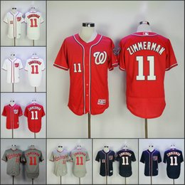 mens washington nationals 11 ryan zimmerman baseball jerseys red blue white grey ryan zimmerman flexbase jerseys