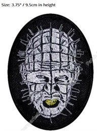 "$enCountryForm.capitalKeyWord NZ - 3.75"" Hellraiser Pinhead Embroidered Patch cloth Horror Movie Series Lead Cenobite TV Movie iron on patch applique badge emblem"