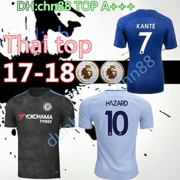 ... Top Quality 17 18 Chelsea soccer jersey home 3rd bule 2017 MORATA HAZARD  PEDRO KANTE DIEGO ... 665d05083