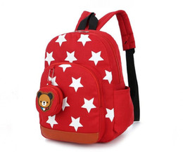 backpack baby boy UK - Children Bags for Boys Kindergarten Nylon Children School Bags Printing Baby Girl School Backpack Cute Children Backpack