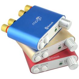 Mini Digital Audio Australia - Freeshipping Lastest HiFi 100W TPA3116 Mini Bluetooth 4.0 Digital Amplifier Amp Home Audio With Power Supply