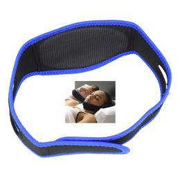 $enCountryForm.capitalKeyWord NZ - 100pcs lot Anti Snoring Chin Strap Neoprene Stop Snoring Chin Support Belt Anti Apnea Jaw Solution Sleep Device