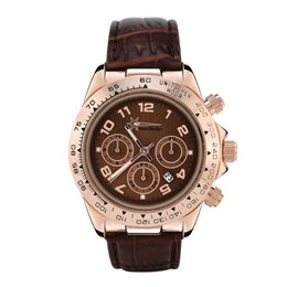$enCountryForm.capitalKeyWord Canada - Rose Gold Case Men's Automatic Date Watch Brand Outdoors Men Women Fashion Luxury Brand Strap Sport Quartz Clock Gent X Watches